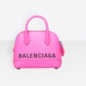 Balenciaga Ville Mini (XXS) Hot Pink AUTHENTIC